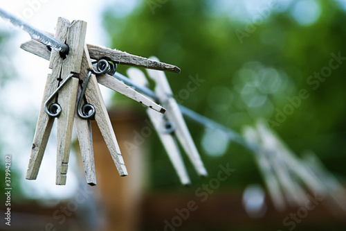 Outdoors Clothesline