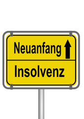 Neuanfang vs. Insolvenz