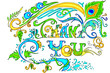 Colorful Thank You Card