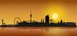 Skyline Wien - Sonnenuntergang