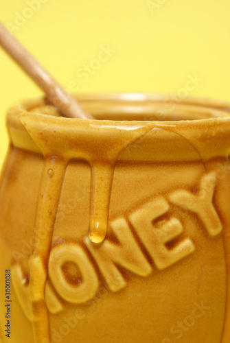 Messy Honey Jar