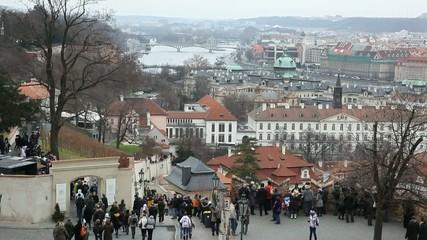 Panoramica di Praga