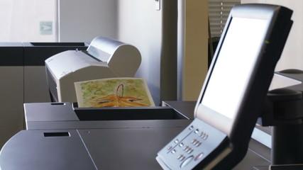 Detail of a copier.