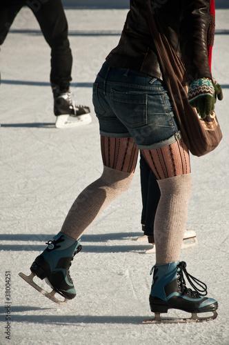 patinoire extérieure