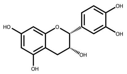 Epicatechin structural formula