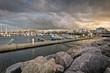 Leinwandbild Motiv Hafen von Kühlungsborn