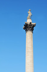 Nelson's Column, Trafalgar Square in London