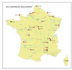 Frankreich Kernkraftwerke