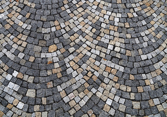 Cobblestone background pattern