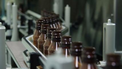 Medicine Production. Liquid Medicine.