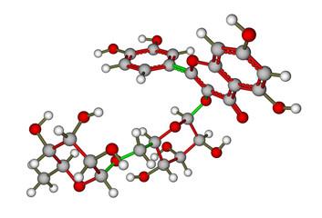 Rutin molecular structure
