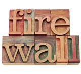 firewall - network security concept
