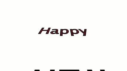 Happy New Year / Full HD VIDEO