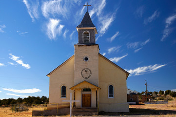 Sacred Heart Church at Dilia, New Mexico