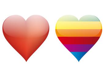 coeurs homo hetero