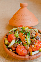 "Moroccan ""seven vegetables"" tagine"
