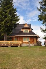Chata góralska drewniana