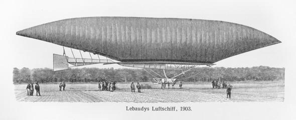 Lebaudy Balloon from 1903