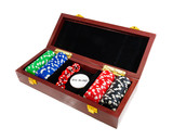 Casino chips. Photo gambling