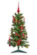 kleiner geschmückter Weihnachtsbaum