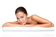 Spa beauty skin treatment woman