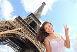 Eiffel Tower tourist - 38022466