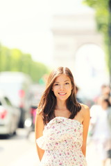 Paris woman
