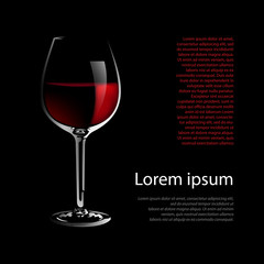 Red Wine List # Vector