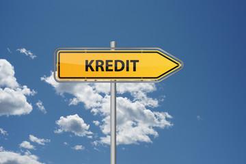 Wegweiser - Kredit