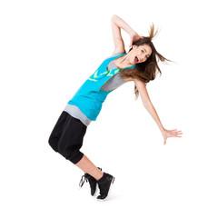 jugendliche Tänzerin
