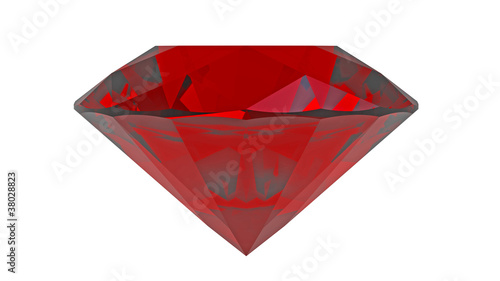 Red diamond ruby