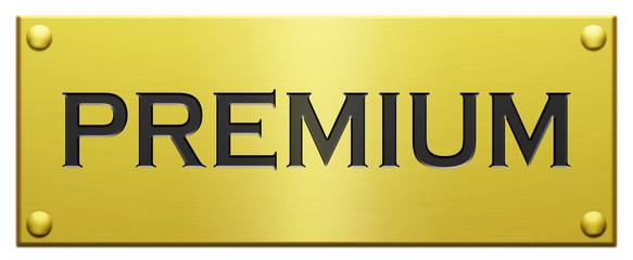 """Premium"" Engraved Plate"