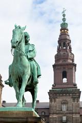 King Christian IX Monument in Copenhagen