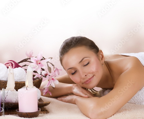 Spa Woman. Thai Massage