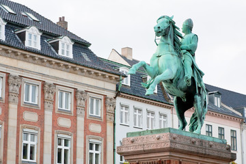 Absalon on Hojbro square in Copenhagen, Denmark