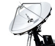 Parabolic Antenna on White