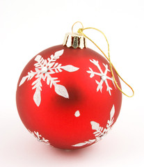 red xmas decoration