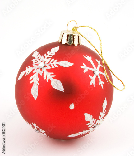 red xmas decoration