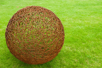 ball of rusty wire