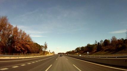 autopista coches