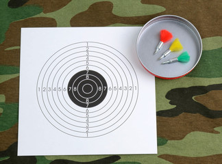 Sport shooting objects