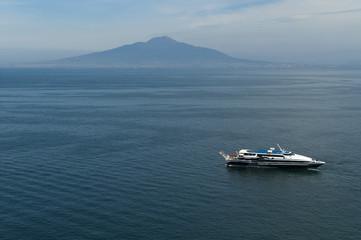 Mount Vesuvius from Sorrento Campania Italy