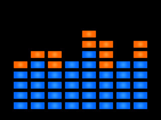 Music sound wave