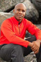 Handsome Man Outdoor Portrait in Miami South Beach