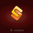 Logo letter S, joint # Vector