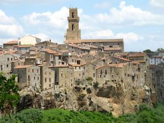 Pitigliano Tuscan village, Italy