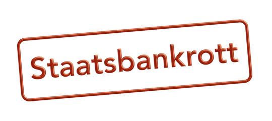 staatbankrott