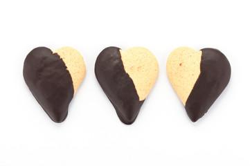 Biscotti a forma di cuore