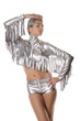 Futuristic CowGirl Holiday Dancer Party Costume
