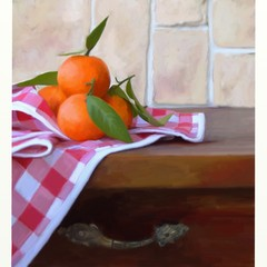 mandarini dipinti